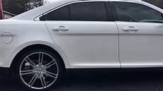 2014 ford taurus on 22 quot borghini b20 chrome wheels with