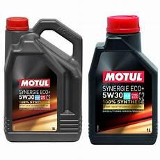 Huile Moteur Motul Synergie Eco C2 Essence Diesel 5w30 5