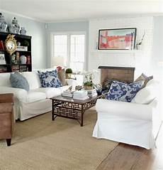 facing living room ikea ektorp sofas for our living room emily a clark