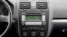tune in to see how the vw golf s radio has evolved