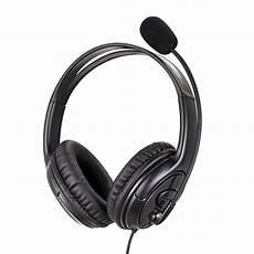 Jazza Wired Leather Headset by New Jazza U10 Usb Wired Pu Leather Headset