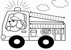 ausmalbilder feuerwehrauto in the dreamhouse coloring pages coloring pages