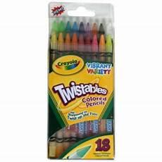 crayola twistable colored pencils vibrant variety
