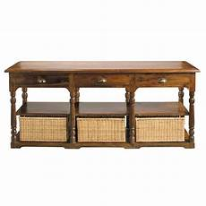 table console en bois de sheesham massif l 180 cm luberon