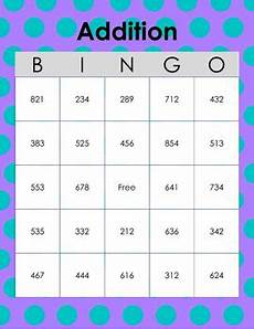 addition bingo worksheets 8794 3 digit addition bingo by baer creations teachers pay teachers