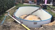 pool selber bauen poolbau