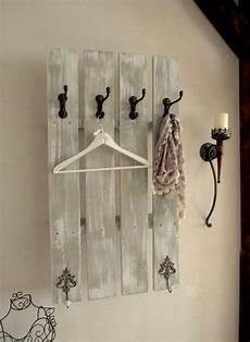 garderobe aus leitern garderobe selbst gestalten