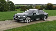 drive review 2020 audi a8 in hybrid reflects