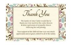 thank you card template for comming to event thank you letter for baby shower