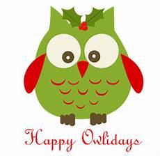 cute hoots happy owlidays