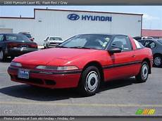 how make cars 1992 plymouth laser electronic valve timing flash red 1990 plymouth laser rs gray interior gtcarlot com vehicle archive 15570983