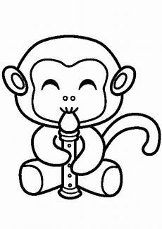 Malvorlagen Tiere Affen Ausmalbild Affe 16 Ausmalbilder Tiere