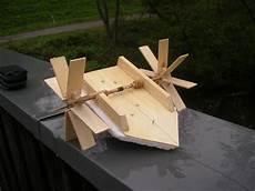 Sachen Aus Holz Bauen - boot mit eigenantrieb basteln mit holz