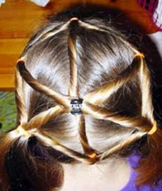 kids hairstyle spider web thi would be so cute for a witch halloween costume transylvania