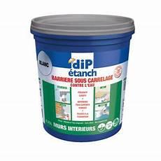 peinture imperméable douche barri 232 re sous carrelage contre l eau blanc 0 75l castorama