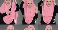 Cara Menggunakan Jilbab Syar I Voal Motif
