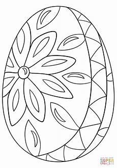 Malvorlagen Ostern Eier Decorative Easter Egg Coloring Page Free Printable