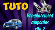 Tuto Remplacement Oules Phare Avant Clio 2