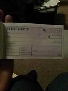 how to fill out a money rent receipt book for house cleaning services quora
