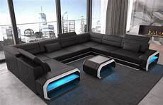 led sofa living room sofa u shape couch sleeping function corner