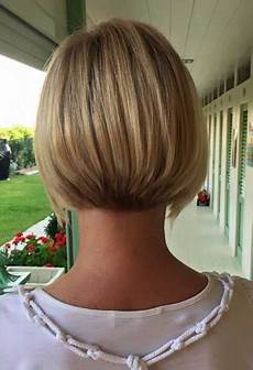 short aline bob back view mature bobs in 2019 hair styles blonde bob hairstyles bob
