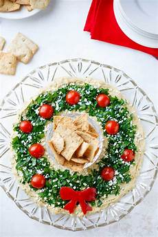 easy christmas appetizer quot hummus wreath quot two healthy