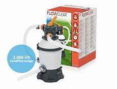 bestway pumpen f 252 r pool filterpumpe sandfilter flowclear