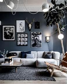 D 233 Co Salon Deco Salon Gris Blanc Mur Listspirit