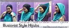 Hijabs Tutorial Illusionist Style Hijabs