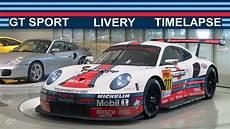 gt sport martini racing porsche 911 rsr white version
