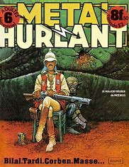 Image result for metal hurlant images