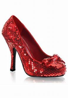 Rote High Heels - sequin high heels