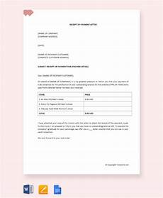 free 11 receipt of payment letter templates in pdf ms word apple pages
