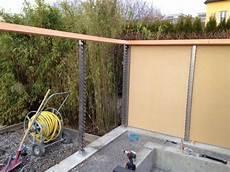 Sicht Und Schallschutz Im Garten - 2 sicht und windschutzwand sichtschutz schallschutz