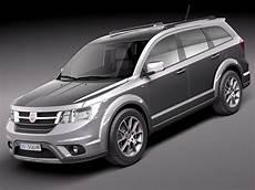 3d Model Fiat Freemont 2012 Suv
