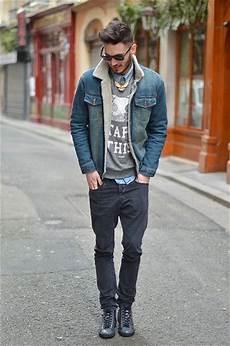 veste avec jean homme blz comment porter un total look jean