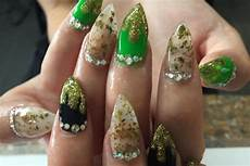 weed nails are the perfect manicure for glam stoners