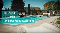 Der Traum Vom Eigenen Pool Im Garten