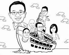 Contoh Gambar Karikatur Tanpa Warna Koleksi Gambar Hd