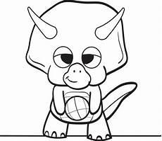 baby dinosaur coloring pages clipart panda free