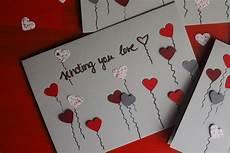 valentinstagskarten selbstgemacht