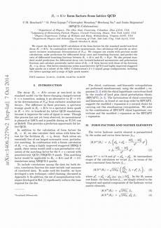 pdf bs kℓν form factors from lattice qcd