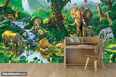wall mural animals in harmony muraldecal