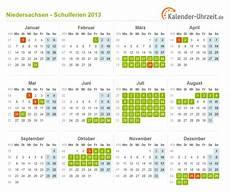 Ferien Niedersachsen 2013 Ferienkalender Zum Ausdrucken