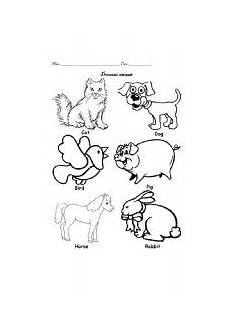 domestic animal worksheets 14291 domestic animals worksheet by diana diaz