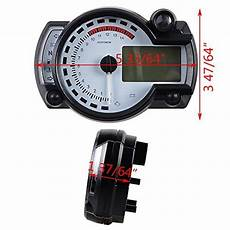 15000rpm universal motorcycle digital lcd km h mph speedometer odometer tachometer for 8