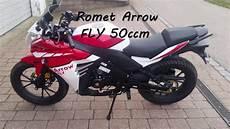 romet arrow fly 50ccm moped