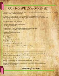 coping skills worksheet a mission project