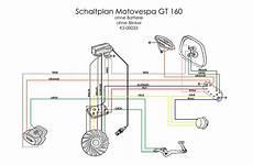 kabelbaum motovespa gt 160 rumpf kabel schute