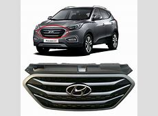 Hyundai OEM Parts Chrome Front Radiator Hood Grille (Fit